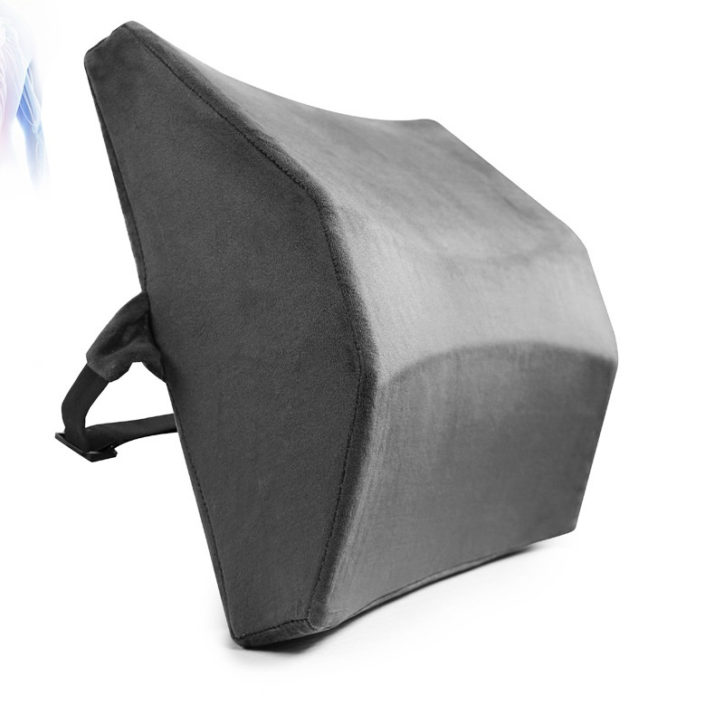 Lumbar Support Back Pillow For Office Chair Ergonomic Design Memory Foam Relieve Pressure Protect The Spine Back Rest Pillow