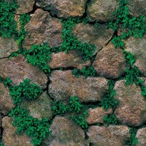 Image 3 - Impermeable Vintage 3D piedra efecto papel tapiz rollo moderno rústico realista imitación piedra textura vinilo PVC papel de pared decoración del hogar