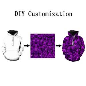 Image 2 - Kabul sevgili müşteri tasarım Anime/fotoğraf/yıldız/şarkıcı desen/DIY Hoodies erkekler/kadınlar 3D baskı Streetwear Hoodie T112