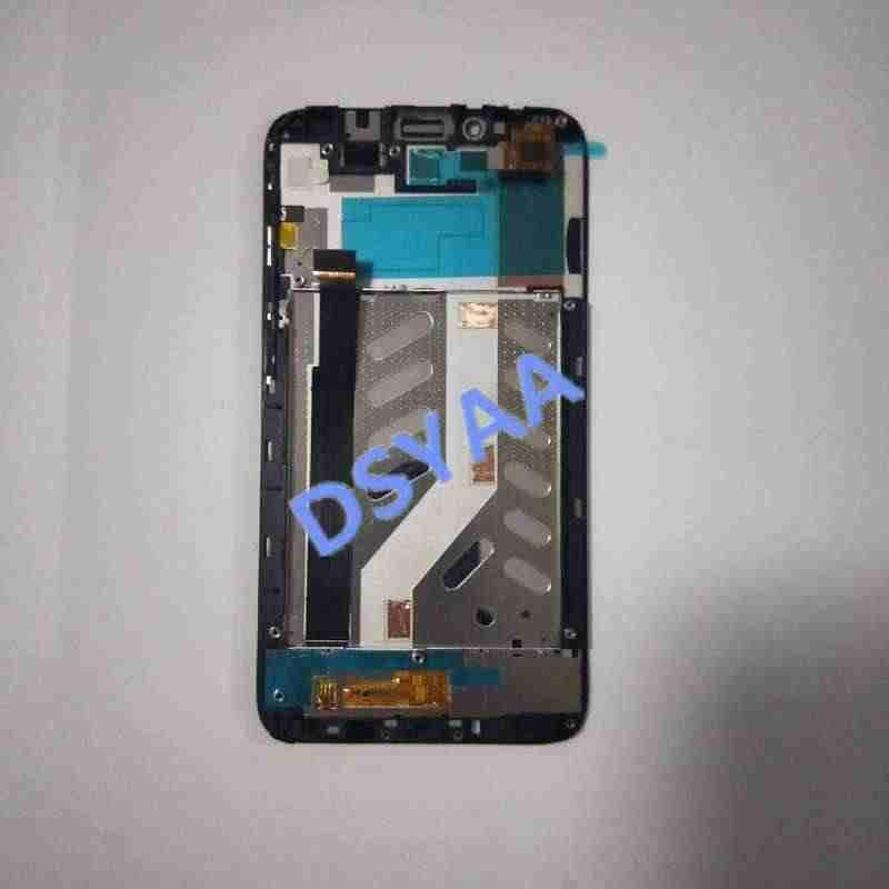 5,0 дюймов для Alcatel One Touch Idol 2 OT6037 6037B 6037L 6037Y lcd сенсорный экран дигитайзер панель дисплея в сборе с рамкой
