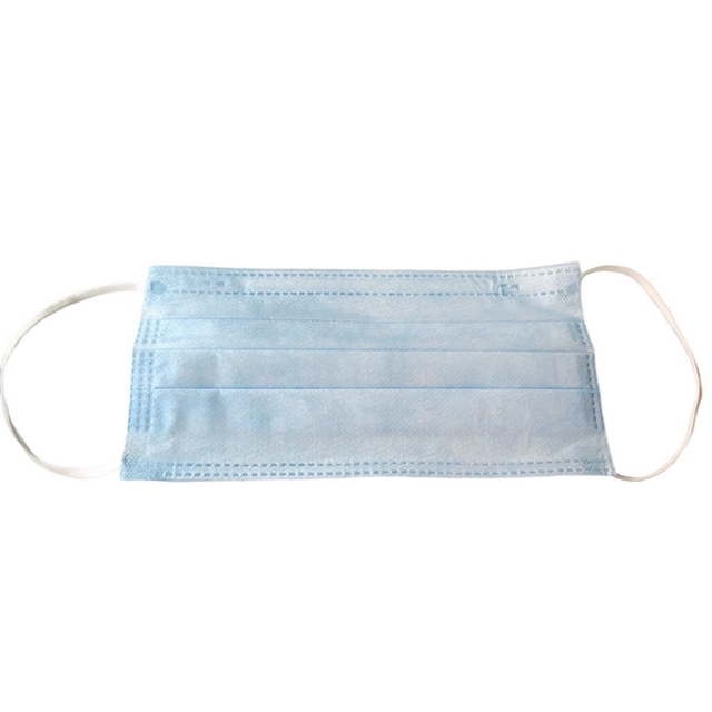 10Pcs/Lot Anti-Dust Safe Breathable Mouth Mask Disposable Ear Loop Face Masks 3 Layers Thickened Nonwoven 2