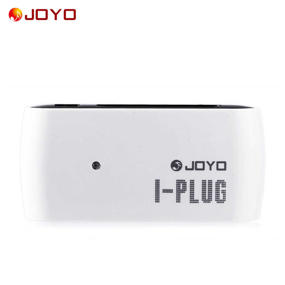 JOYO Aku-Plug Gitar Listrik Mini Headphone Amp Amplifier Built-In Overdrive Efek Portable untuk Iphone Samsung Android/Jendela