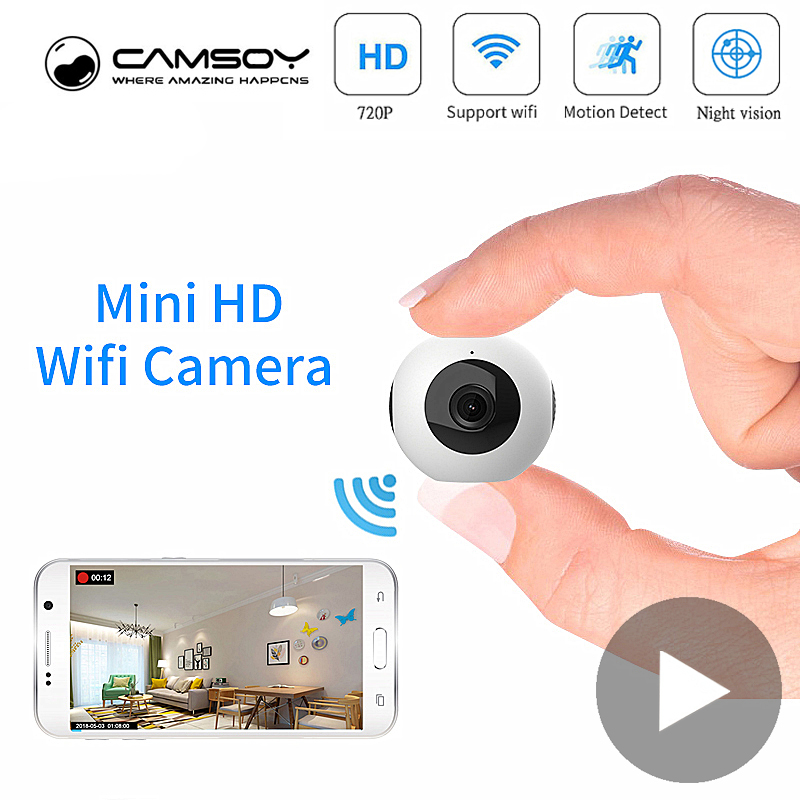 Wi Fi Micro Home Wireless Video CCTV Security Surveillance Mini With Wifi IP Camera Cam Camara For Phone Wai Fi HD Nanny Online