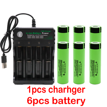 3.7V 3400mAh 18650 Lithium Rechargeable Battery 1