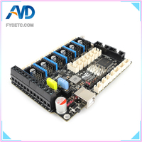 S6 V1.2 Board 32 Bit Control Board Support 6X TMC Drivers For Uart/SPI Flying Wire XH  Connector VS F6 V1.3 SKR V1.3 Mainboard