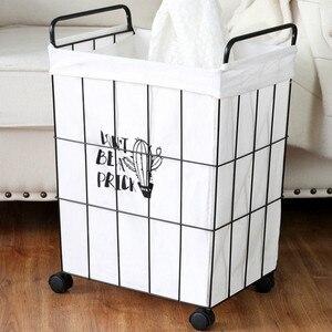 Storage Basket with wheels iro