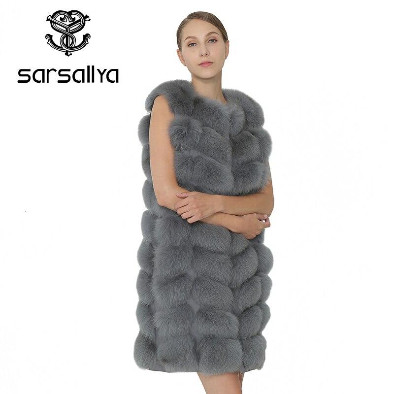 winter Natural Fox Fur Coat women Real Fox Fur Vest Jacket Women's pretty Warm Coat. Natural Real Fur Coat Jacket Real Fur Coats