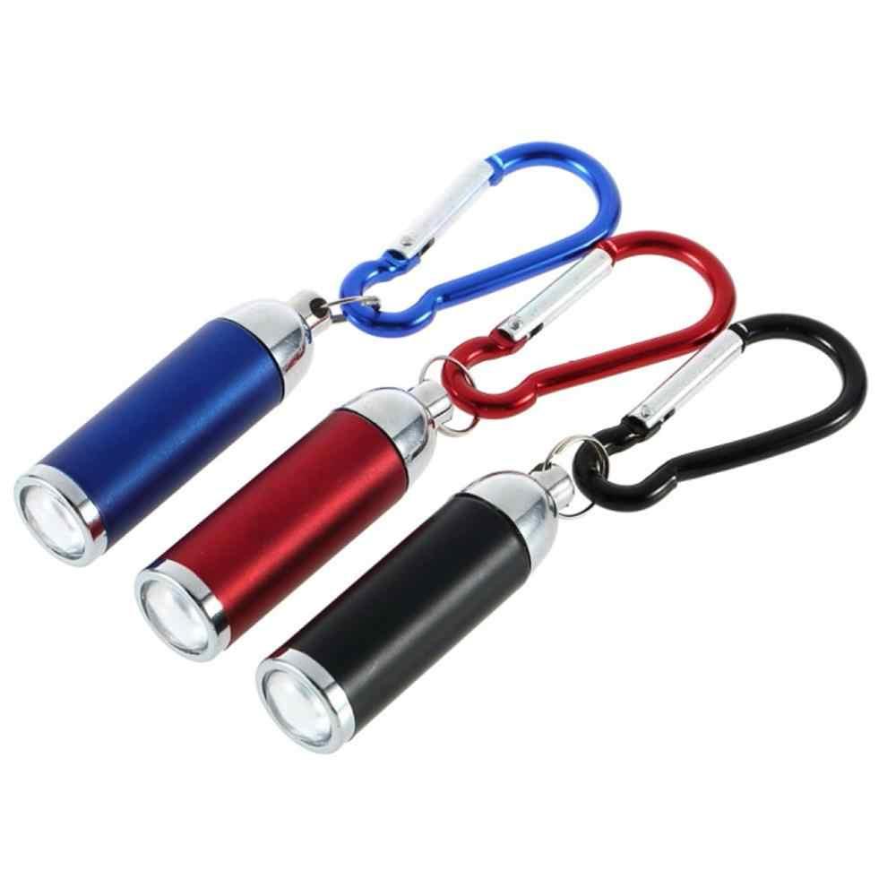 1 pçs cores diferentes lanterna lâmpada led luz tocha chaveiro quente em todo o mundo