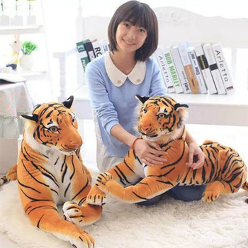 New Creative Little Tiger Doll Ragdoll Plush Toys Forest Wild Animal Realistic Tiger Doll Children'S Dolls Plush Toys Gift Ae077 new 1pcs 18cm cute simulation crab doll animal plush toys little crab doll ragdoll children toy girlfriend gift funny game toys