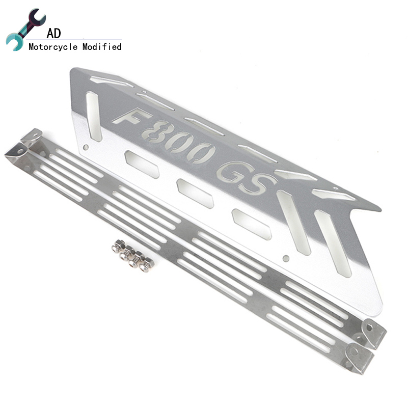 Motor Exhaust Pipe Elbows Protection Heat Shield For BMW R1200 GS F800 F700 F650