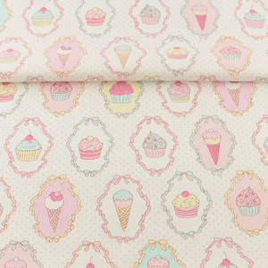 Booksew Cotton Twill Fabric Dye Printed Unicorn Sewing Cloth For Baby DIY Telas Patchwork Algodon Tecido Pink Tissus Au Metre