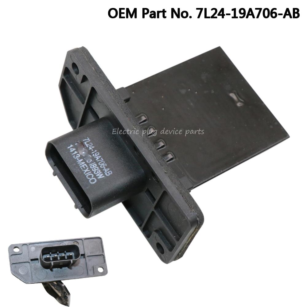 Genuine HVAC Blower Motor Resistor for Ford Explorer 3 2003 7L24-19A706-AB YH27 7L2Z-19A706-A 7L2419A706AB