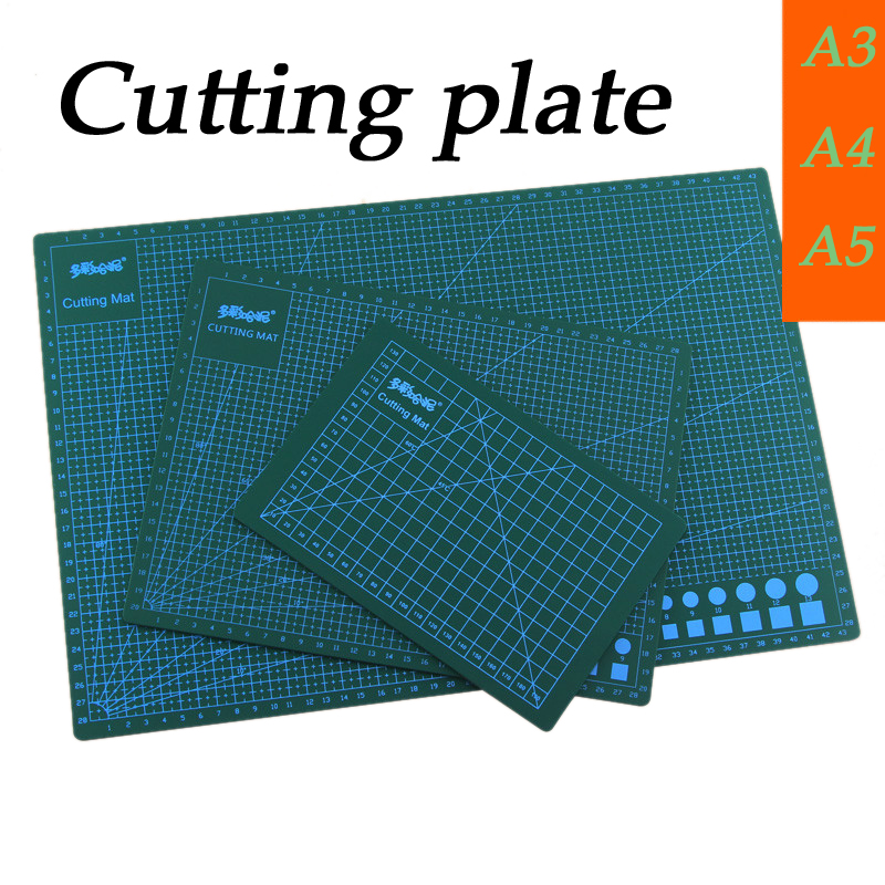 PVC Model Making Cutting Pad Cutting Board Carving Patchwork Tools Handmade Diy Accessory Clay Backing A3 A4 A5 1PC