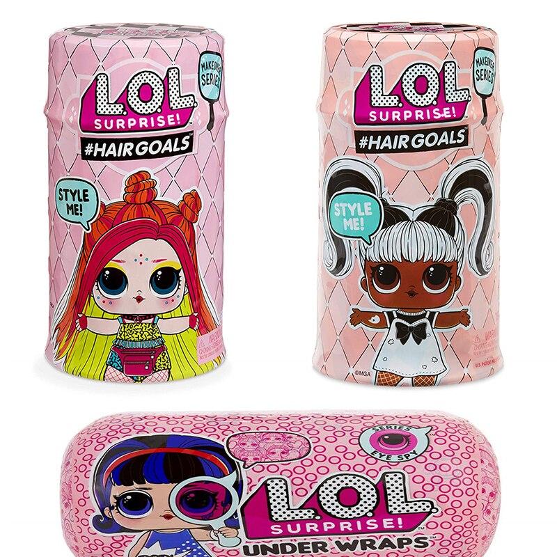 New Hair Girl Lol Doll Surprise Split Ball And Original Ball DIY Children's Toy Dolls For Girls  Toys For Children Baby Doll Toy