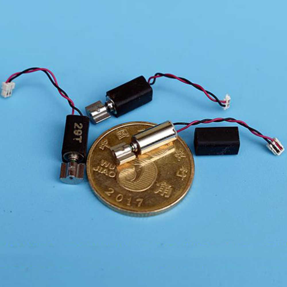 Mini Micro 4 มม.* 8 มม.การสั่นสะเทือนมอเตอร์DC 3V-5V 3.7V 4.2Vถ้วยCorelessมอเตอร์ขนาดเล็ก 0408 ที่มีล้อนอกรีตDIYของเล่นนวด