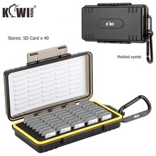 40 slotów wodoodporne etui na kartę pamięci schowek pudełko typu Organizer dla SD SDHC SDXC NS PSV PS Vita Nintendo przełącznik karty do gry tanie tanio Uniwersalny CN (pochodzenie) Torebki Akcesoria Do aparatu Torby KCB-SD40 PC+Sponge+Silica gel Memory Card Case SD card * 40