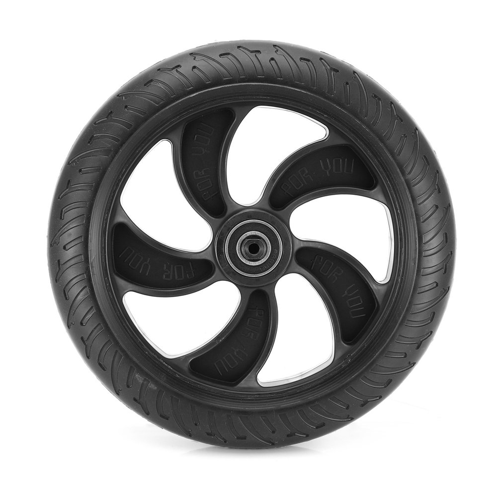 Rear wheel For KUGOO S1 Foldable Electric Scooter steering part of poles Professional wear and durable