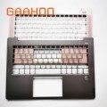 Чехол для ноутбука lenovo IDEAPAD AIR14 (2019) S540-14 540S-14 подставка для ноутбука/w FP отверстие розовый/серый