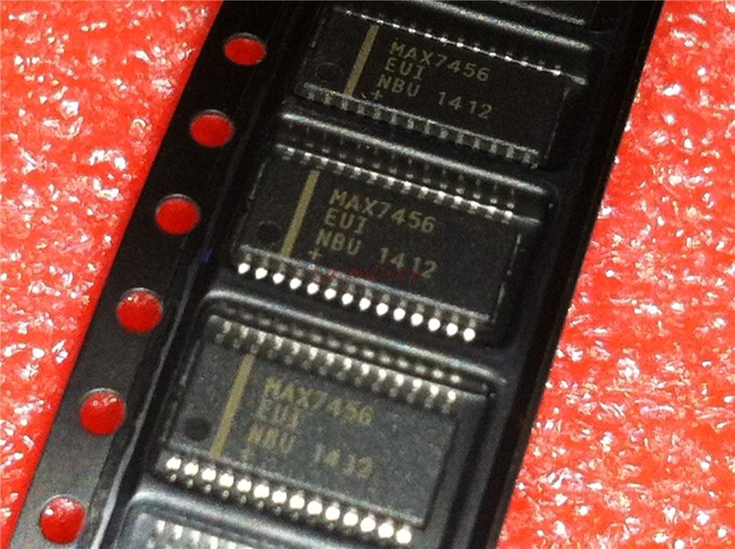 5pcs/lot MAX7456EUI MAX7456EUI+ MAX7456 TSSOP28 In Stock