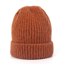 Rabbit Winter Cold Beanie Hat Knitted Wool Hat Female Edition Thickened Headgear Fashion Warm Hat Beanies for Ladies