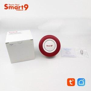 Image 5 - Smart9 ZigBee Alarm Hooter współpracuje z hubem TuYa ZigBee, inteligentną syreną z automatyką dźwięku i latarka przez Smart Life App