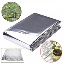 210x120cm Double Garden Wall Mylar Film Covering Sheet Hydroponic Highly Reflective Indoor Greenhouse Planting Accessories