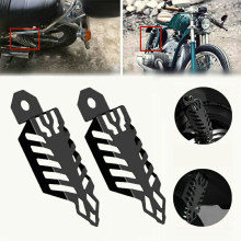 Universal shock absorber of motorcycle Rear suspension for single shock absorber Motorcycle Shock Spring Covers 43mm front fork suspension shock absorber tool motorcycle forks holding tools universal accessories parts