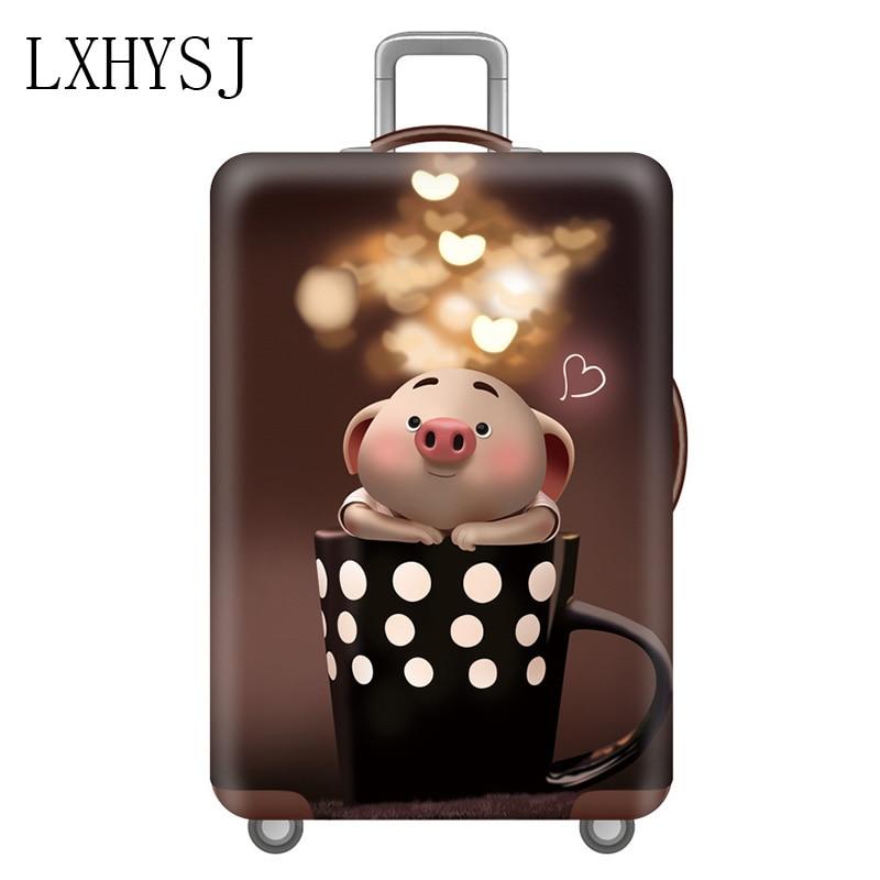 Travel Suitcase Case Cover Elastic Luggage Protective Cover Case For 18-32 Inch Suitcase Protective Sleeve Travel Accessories