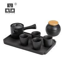 TANGPIN japanese ceramic teapots teacups chinese kung fu tea sets drinkware