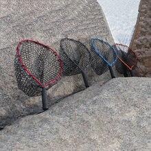 Портативная рыболовная сеть для посадки силиконовая резиновая