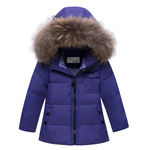 Image 5 - Kids Winter Jacket Overalls For Children Boys Girls Snowsuit Baby Boy Girl Clothes Parka Coat Toddler New Year Down Jackets