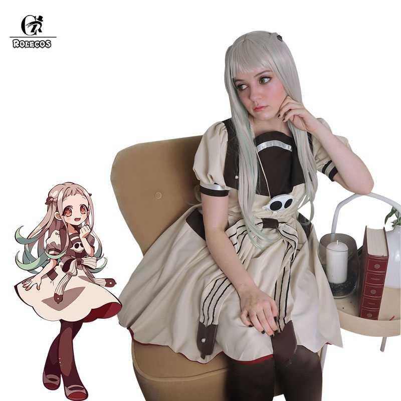 Rolecos Wc-Gebonden Hanako-Kun Yashiro Nene Cosplay Kostuum Jibaku Shounen Hanako-Kun Anime Cosplay Vrouwen Kostuum lolita Jurk
