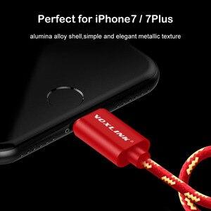 Image 3 - Voxlink aux 자동차 케이블 아이폰 x xs xr 8 7 플러스 1 m/3ft 8 핀 3.5mm 남성 잭 오디오 케이블 아이폰 7 6 스피커 헤드폰