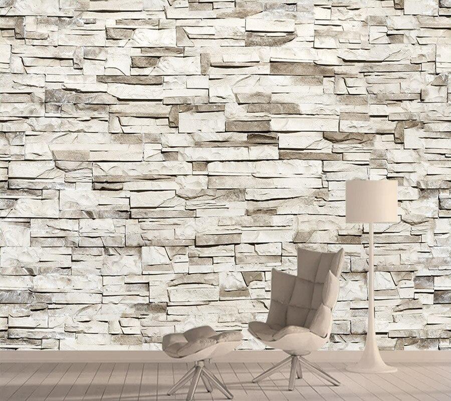 3d Customs Wallpapers For Living Room Bedroom Brick Wall Paper Papers Home Decor Murals Walls Wallpaper Peel Stick Contact Roll