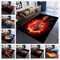Коврики для спальни с 3D принтом  готические ковры большого размера  Современные вечерние Нескользящие Коврики для Хэллоуина  коврики для до...