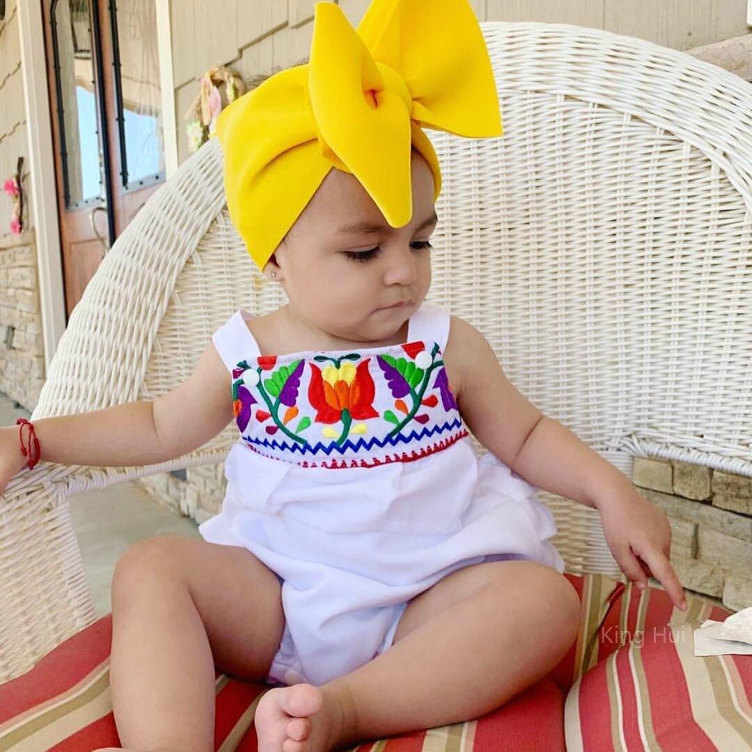 Diademas Para Bebe Turban Baby Girl Headwrap Hair Accessory Baby Headband Bow Bandeau Bebe Fille King Hui Opaska Dla Dziewczynki
