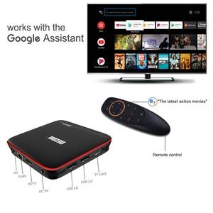 Image 4 - MECOOL M8S PRO W Smart TV Box Android 7.1 Amlogic S905W Quad Core 2GB 16GB 1GB 8GB  Voice Control 2.4G WiFi 4K Set Top TV Box