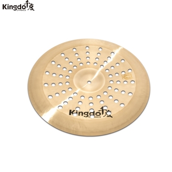 Kingdo cheap handmade prpfessional B20 KEC series 16 effect china cymbal for drum set kingdo b20 collection jazz series 10 splash cymbal for drum set cymbal set