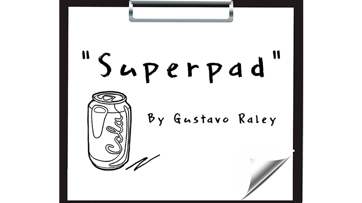 2020 Super Pad By Gustavo Raley , Magic Trick