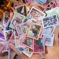 50 шт. Весна почтальон серии Скрапбукинг ярлыком дневник канцелярские альбом журнал цветок печать наклеек