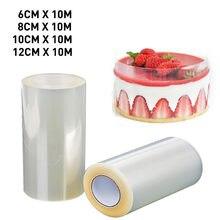 Acetate Film For Cake Decor Transparent Cake Surround Film Mousse Cake Sheets Surrounding Edge DIY Cake Collar Kitchen Bakeware