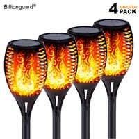 Solare Del Led Fiamma Luci Esterne IP65 Impermeabile Ha Condotto La Luce Solare Del Giardino Flickering Flame Torce Lampada per Cortile con Giardino Balcone