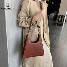 Crocodile Square Bag For Women Fashion Pu Leather Handbags Leather Women Handbag