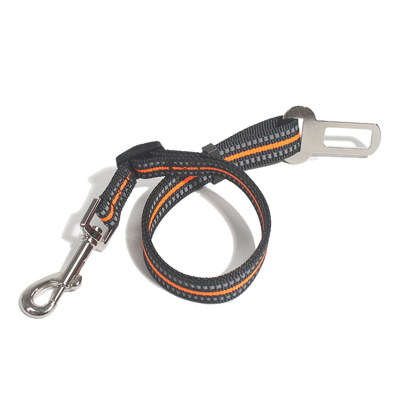 Hot Selling Pet Dog Automobile Safety Belt Car Nylon Webbing Retractable Pet Car Mounted Safety Rope