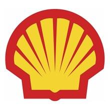 SHELL OIL RACING Logo Car Accessories Sticker Modeling Bumper Racing Motorcycle Helmet Decals Vinyl Auto Decoration