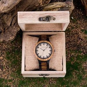 Image 2 - BOBO BIRD Couple Watch Zabra Wooden Quartz Watches for Men Women Fashion Luxury Christmas Gift Logo Customized Drop shipping