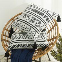 Christmas Linen Pillowcase Pillow Decoration Pillow For Sofa Home Decorative Cushion Printed Cushion Rabbit Easter Print Decor