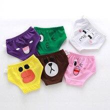 New Arrive Childrens Underwear Boys Cotton Short Baby Girls Cartoon Briefs Yb437