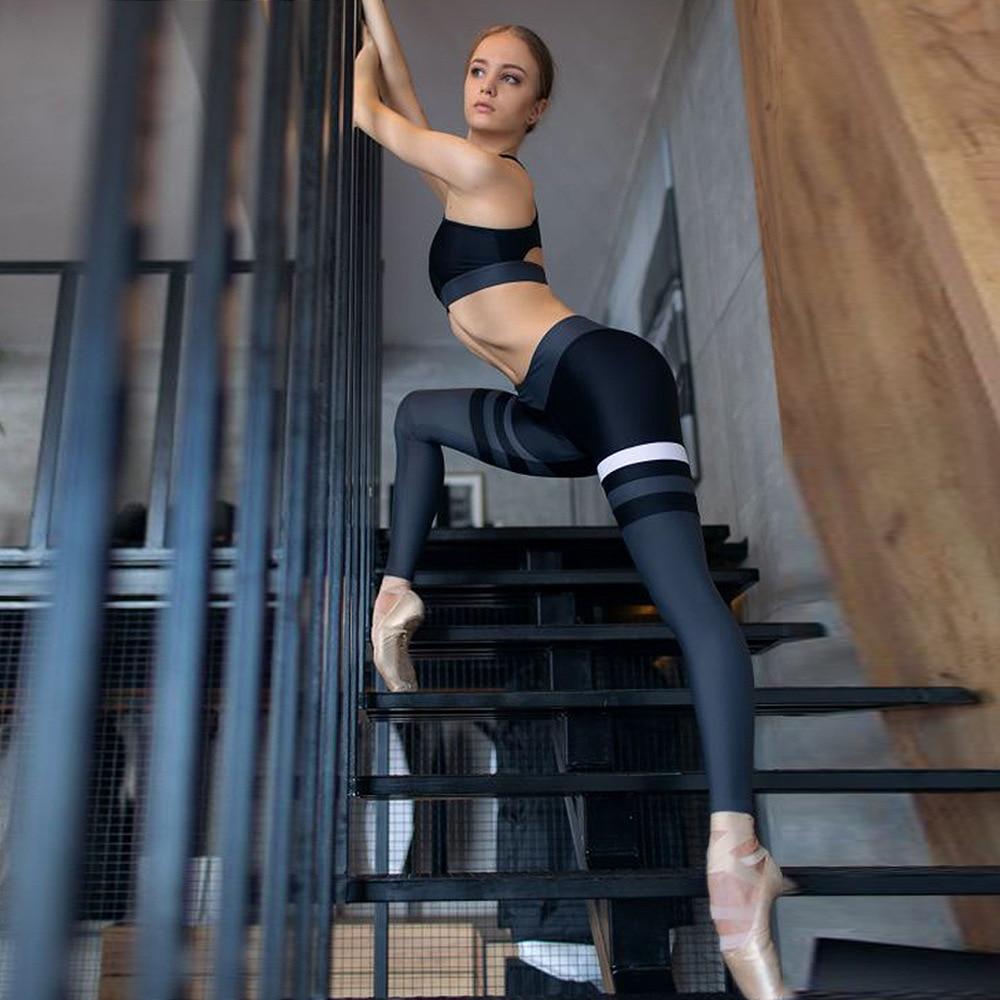 Ensemble soutien-gorge et Leggings Yoga Fitness