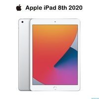New 2020 Apple IPad 2020  IPad 8 Sliver(10.2-inch, Wi-Fi, 128GB) - (8th Generation) 1